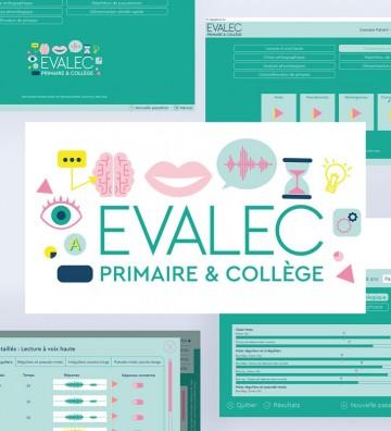 Evalec, logiciel d'évaluation du trouble de la lecture chez des enfants et adolescents. Orthophonie