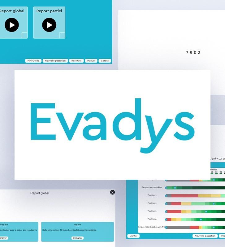 Evadys logiciel évaluation de l'empan visuo-attentionnel et évaluation dyslexie dès la maternelle.