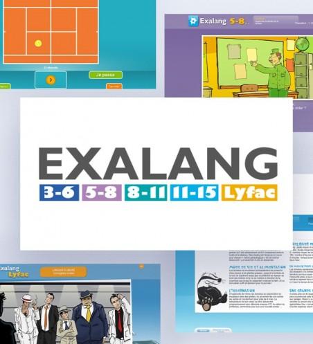 La suite EXAlang (les 5 logiciels)