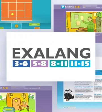 EXALang - Pack 3-15 ans (4...