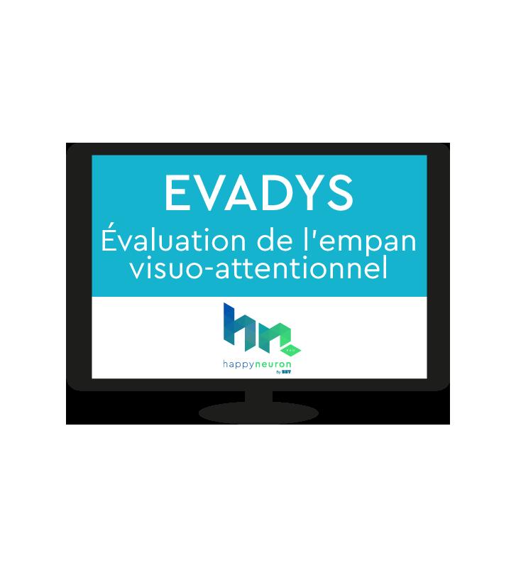 Evadys, logiciel orthophonie évaluation de l'empan visuo-attentionnel et prévenir les troubles dyslexiques dès la maternelle.